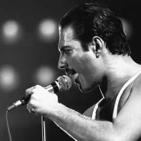 Freddie Mercury is listed (or ranked) 1 on the list The Best Singers of All Time