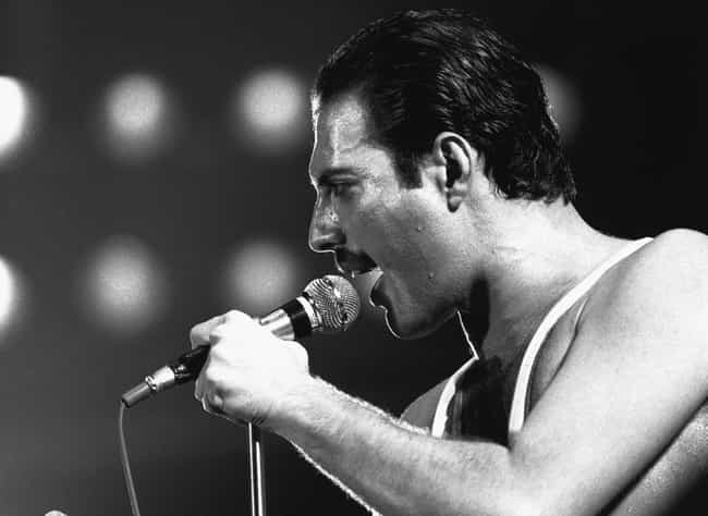 Freddie Mercury is listed (or ranked) 3 on the list Famous Male Organists