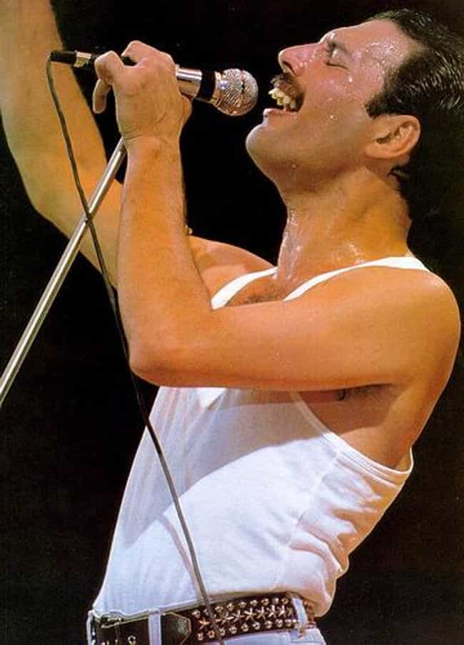Freddie Mercury is listed (or ranked) 4 on the list Famous People With HIV
