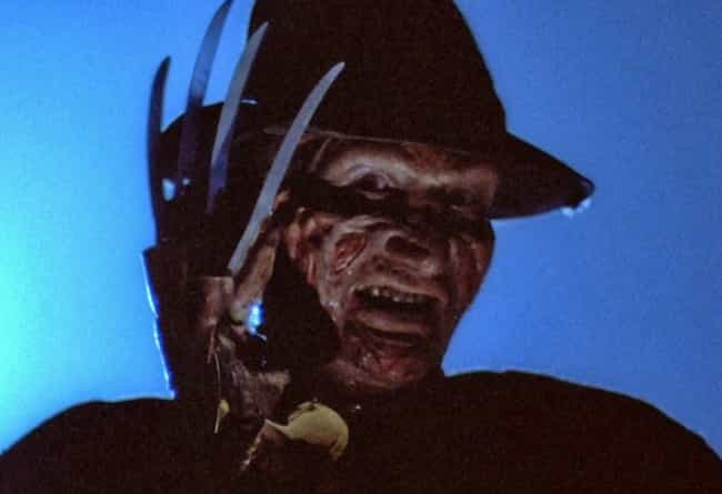 Freddy Krueger is listed (or ranked) 3 on the list The Ugliest Movie Villains in Film History