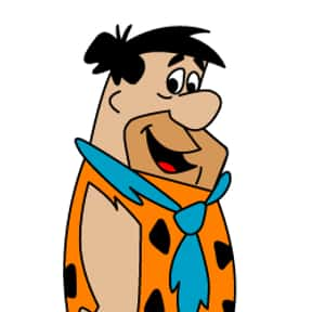 Fred Flintstone is listed (or ranked) 19 on the list The Greatest Cartoon Characters in TV History