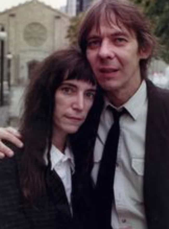 Fred Sonic Smith is listed (or ranked) 2 on the list Every Hollywood Icon Patti Smith Has Dated