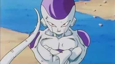 Frieza - 'Dragon Ball Z' is listed (or ranked) 1 on the list The 20 Greatest Anime Villains From The 1990s, Ranked