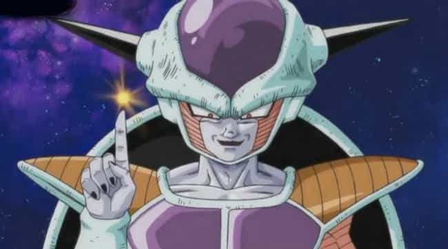 Frieza is listed (or ranked) 2 on the list 15 Anime You Would Never Guess Are Based On True Stories