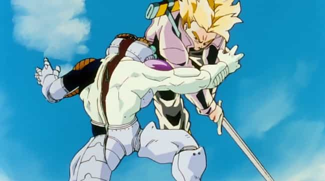Frieza is listed (or ranked) 4 on the list The Most Humiliating Anime Villain Defeats Of All Time