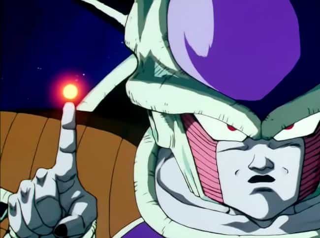 Frieza is listed (or ranked) 1 on the list The 15 Most Horrible Bosses In Anime