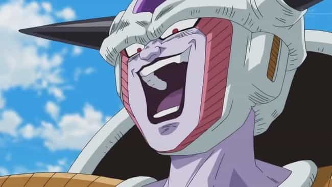 Frieza is listed (or ranked) 3 on the list The 15 Most Evil Anime Villains With The Blackest Hearts