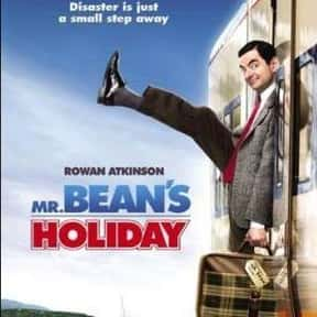 Mr. Bean's Holiday is listed (or ranked) 1 on the list The Best Rowan Atkinson Movies