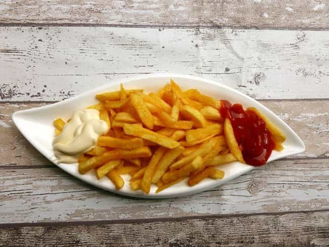 French fries is listed (or ranked) 4 on the list Foods That Are Totally Different In The United States