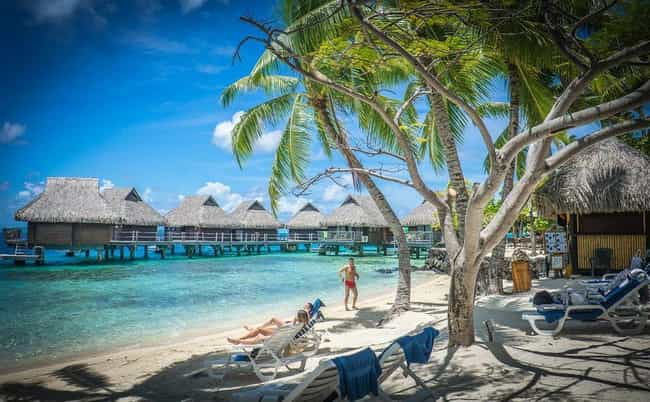 French Polynesia is listed (or ranked) 8 on the list The Countries with the Best Beaches
