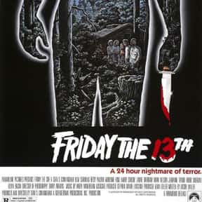 Friday the 13th is listed (or ranked) 5 on the list The Best Horror Movies Of The 1980s