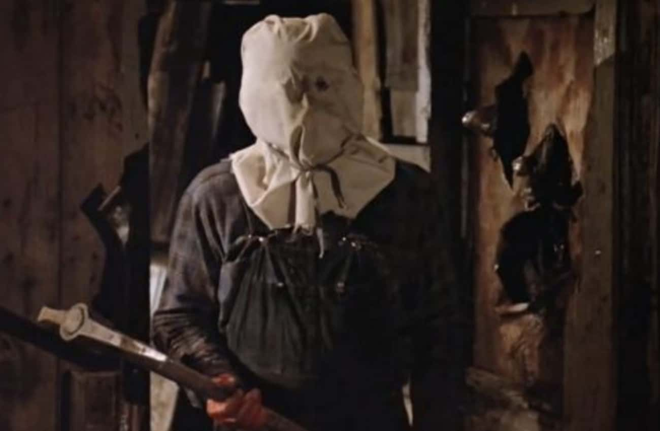 Sack Mask Jason From 'Friday The 13th Part II'