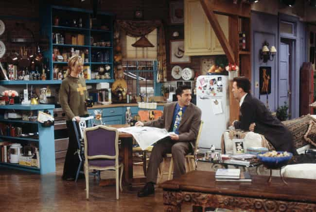 Friends is listed (or ranked) 3 on the list Stunning TV Apartments You'd Sell Your Soul For