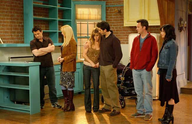 Friends is listed (or ranked) 3 on the list TV Shows That Had Supposedly Happy Endings (But Were Actually Really Depressing)