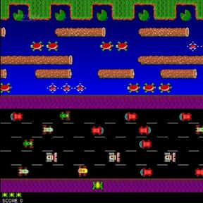 Frogger is listed (or ranked) 25 on the list The Best Classic Video Games