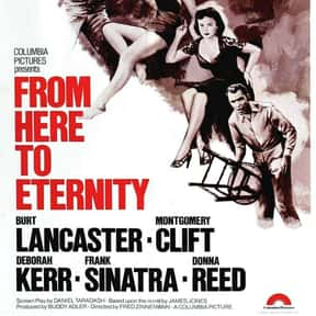 From Here to Eternity is listed (or ranked) 9 on the list Every Oscar Winning Film Ever