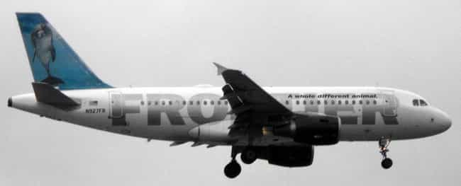 Frontier Airlines is listed (or ranked) 4 on the list Low Cost Airlines in the USA