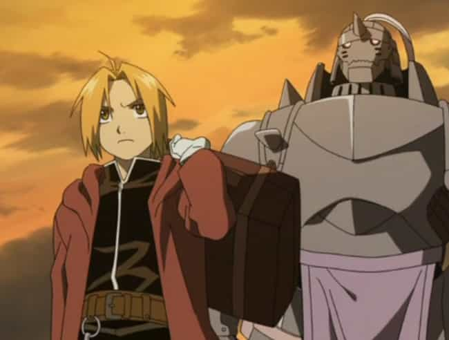 Fullmetal Alchemist is listed (or ranked) 4 on the list 13 Anime That Don't Deserve All Of The Hate