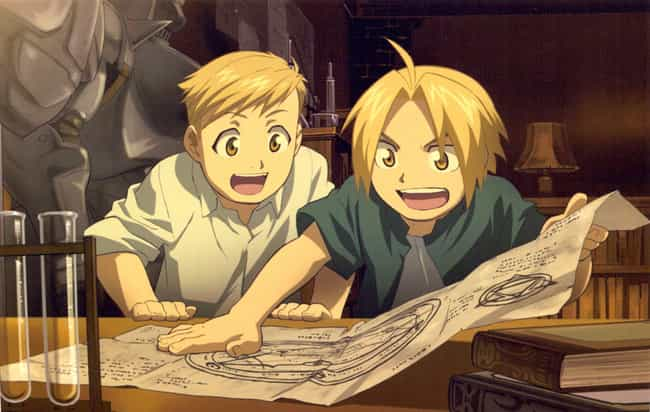 Fullmetal Alchemist is listed (or ranked) 2 on the list 15 Exciting Anime That Explore The World of Science