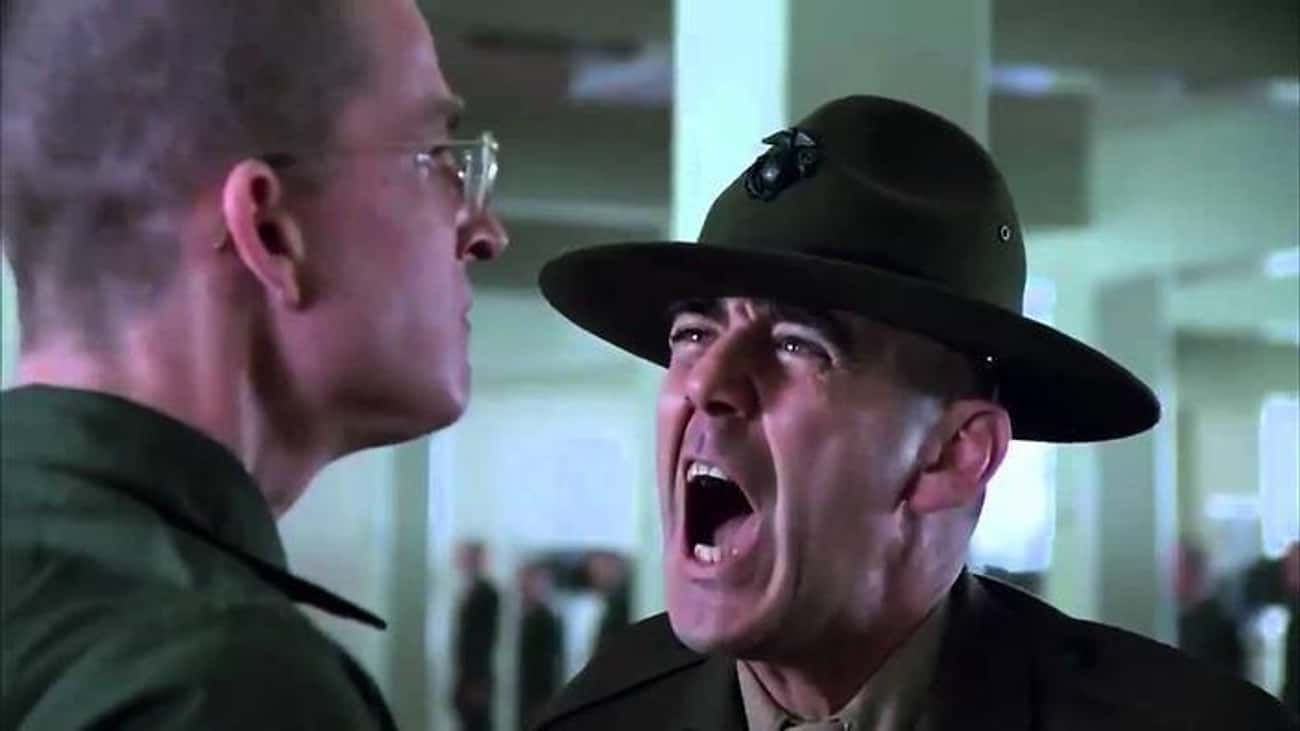 R. Lee Ermey Was A Real Drill Instructor, And His Performance In 'Full Metal Jacket' Resonated With Vets