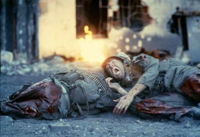 Full Metal Jacket is listed (or ranked) 5 on the list Brutal War Movies That Absolutely Got It Right