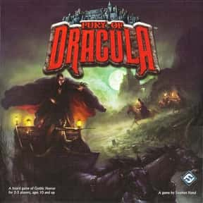 Fury of Dracula is listed (or ranked) 16 on the list The Best Board Games for 4 People