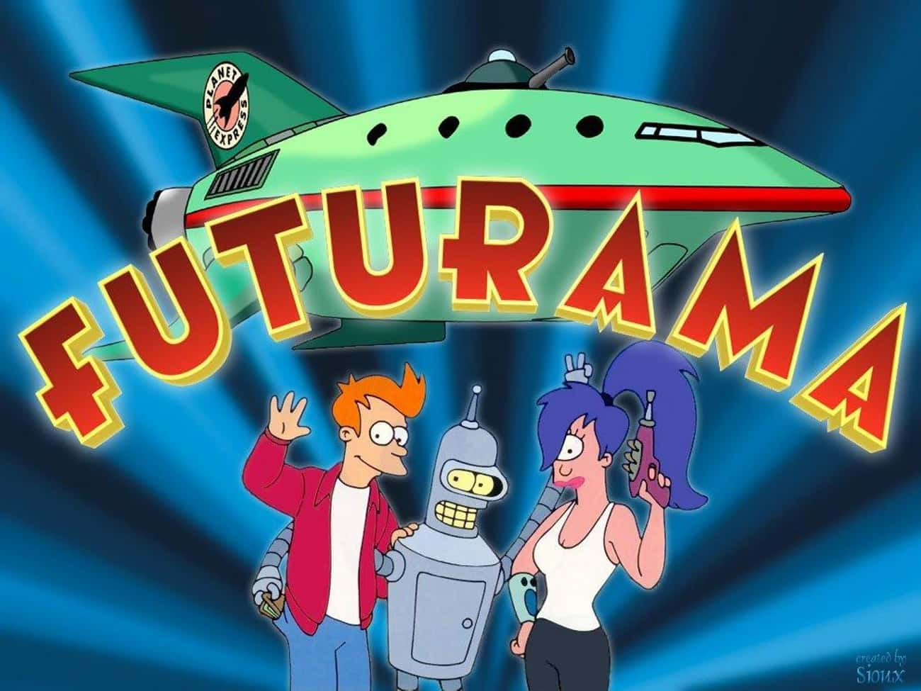 Futurama is listed (or ranked) 4 on the list What To Watch If You Love 'Final Space'