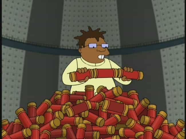Futurama is listed (or ranked) 8 on the list TV Shows with the Best Episode Names