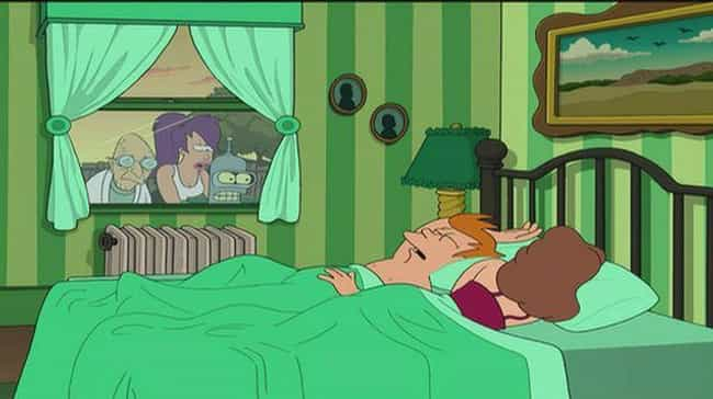 Futurama is listed (or ranked) 6 on the list Popular TV Shows That Dove Into Seriously Weird Incest Plots