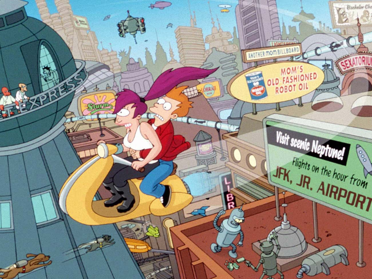 Futurama is listed (or ranked) 3 on the list The Best TV Shows To Leave On In The Background
