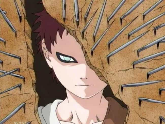 Gaara is listed (or ranked) 1 on the list 16 Sympathetic Anime Villains You Can't Help But Feel For