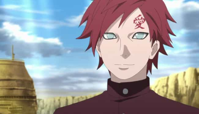Gaara is listed (or ranked) 2 on the list 15 Times Anime Villains Switched Sides and Turned Good