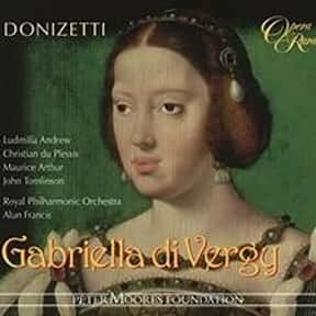 Gabriella di Vergy is listed (or ranked) 15 on the list List of Opera seria Operas