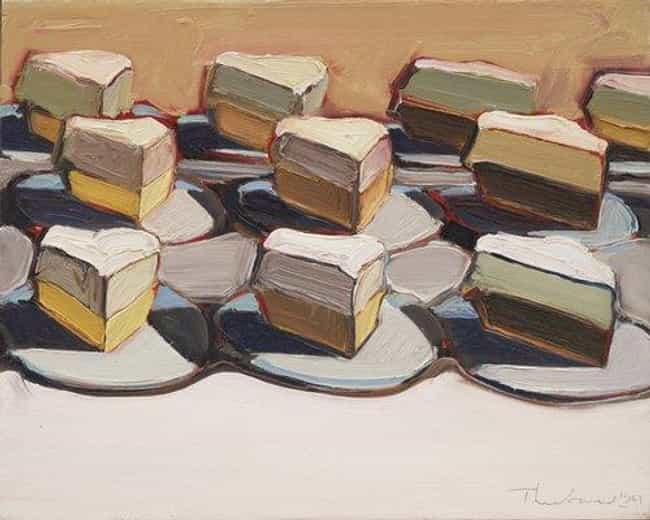 Cut Meringues is listed (or ranked) 1 on the list Famous Wayne Thiebaud Paintings