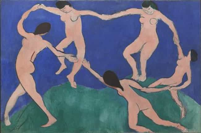 Dance (I) is listed (or ranked) 4 on the list Famous Fauvism Artwork