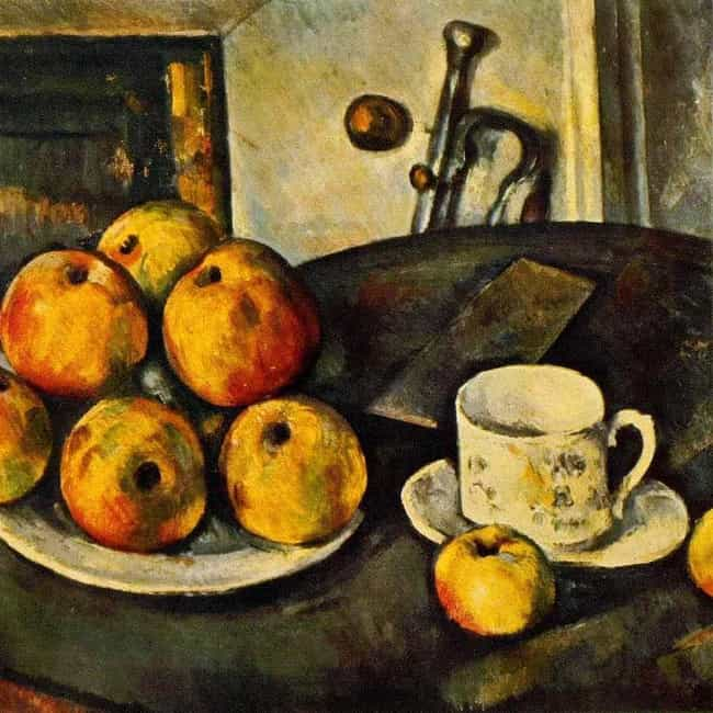 Still Life with Apples is listed (or ranked) 3 on the list Famous Apple Art