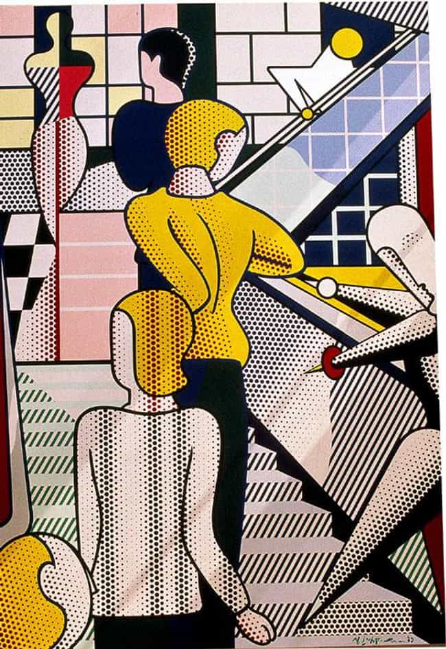Bauhaus Stairway is listed (or ranked) 2 on the list Famous Roy Lichtenstein Paintings