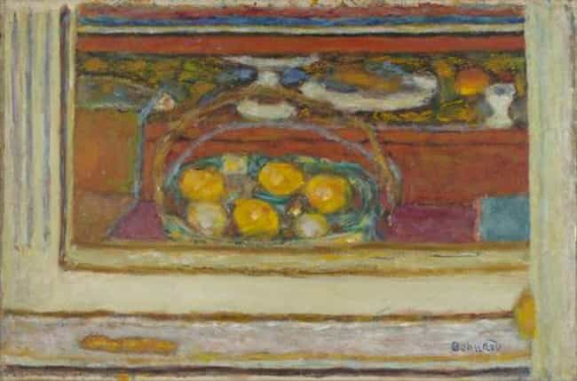 Basket of Fruit Reflecte... is listed (or ranked) 1 on the list Famous Pierre Bonnard Paintings
