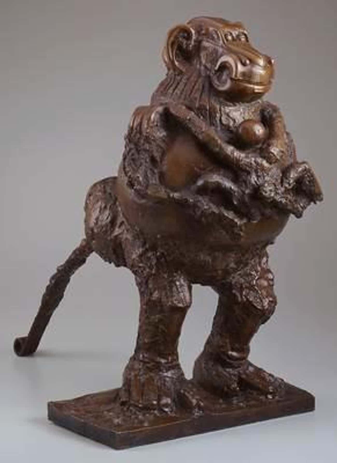 Baboon and Young is listed (or ranked) 1 on the list Famous Pablo Picasso Sculptures