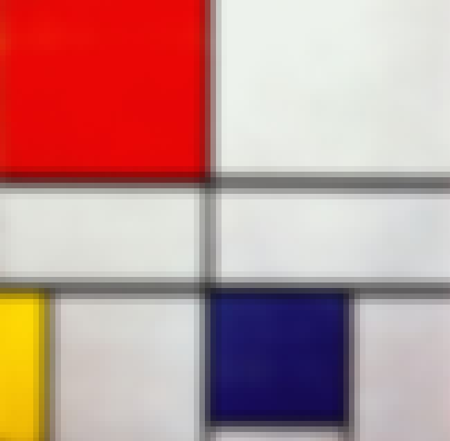 Composition C is listed (or ranked) 2 on the list Famous Piet Mondrian Paintings
