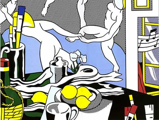 Artist's Studio The Danc... is listed (or ranked) 1 on the list Famous Roy Lichtenstein Paintings