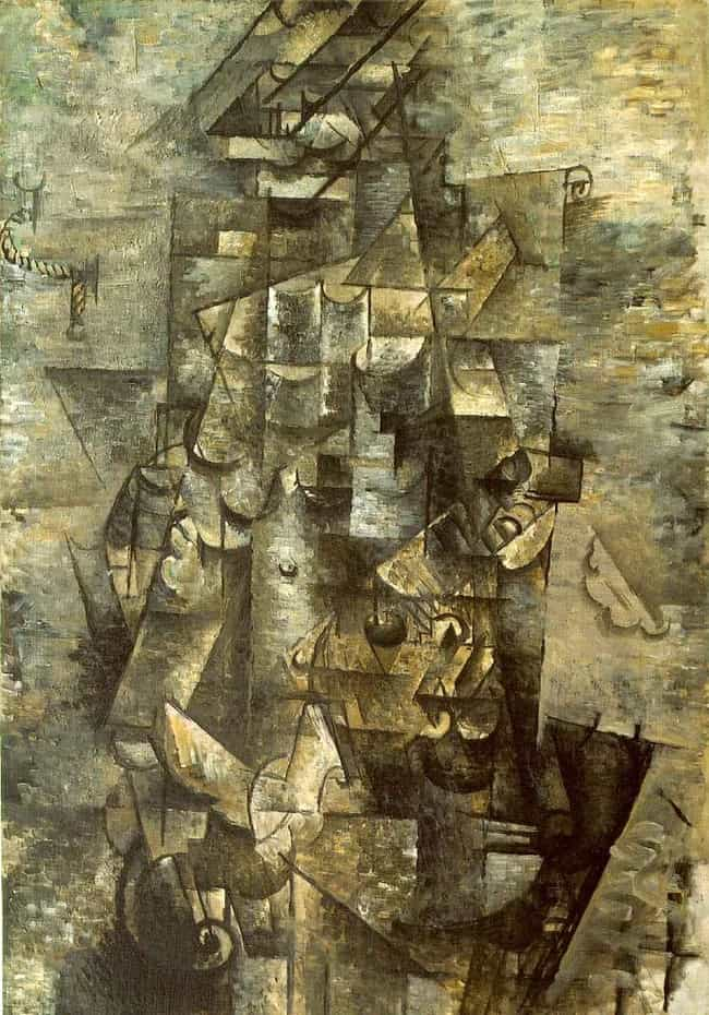 Man with a Guitar is listed (or ranked) 3 on the list Famous Georges Braque Paintings