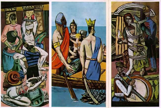 Departure is listed (or ranked) 1 on the list Famous Max Beckmann Paintings