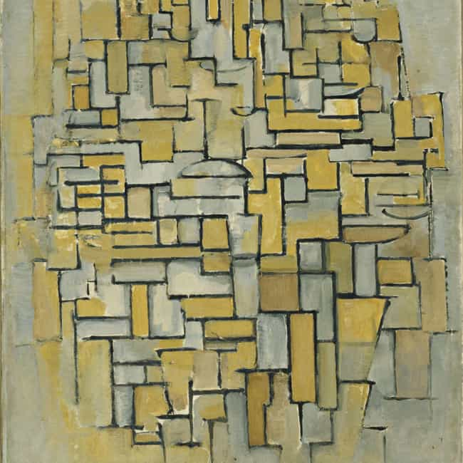 Composition in Brown and... is listed (or ranked) 3 on the list Famous Piet Mondrian Paintings