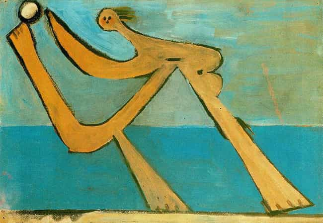 Bather is listed (or ranked) 3 on the list Famous Pablo Picasso Paintings