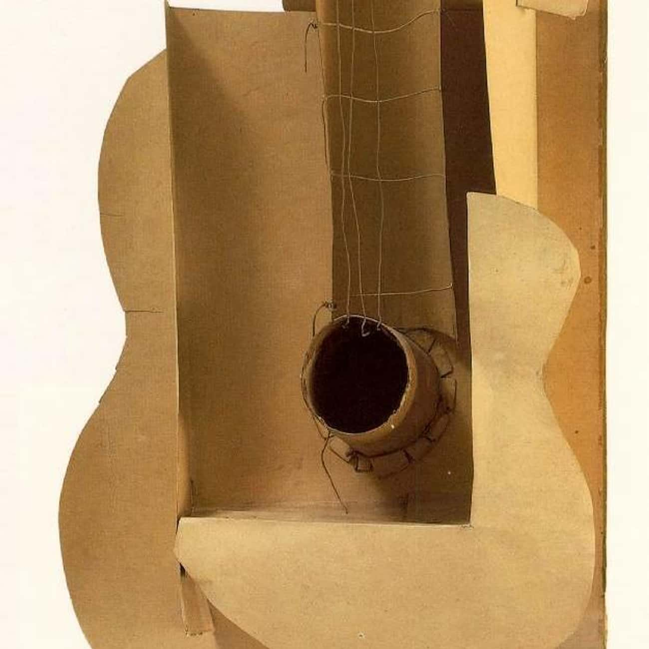 Maquette for Guitar is listed (or ranked) 3 on the list Famous Pablo Picasso Sculptures