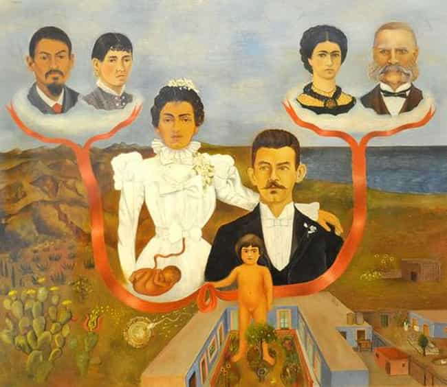 My Grandparents, My Pare... is listed (or ranked) 3 on the list Famous Frida Kahlo Paintings