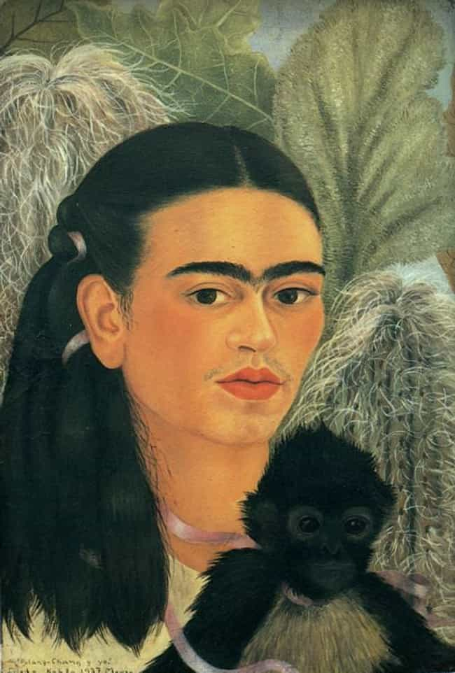 Fulang-Chang and I is listed (or ranked) 2 on the list Famous Frida Kahlo Paintings