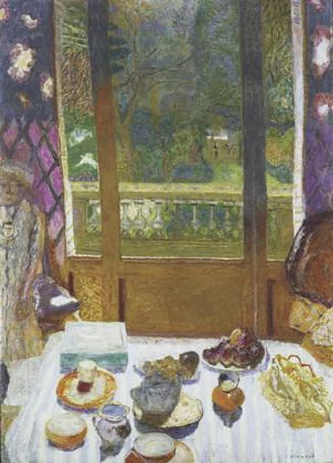 Dining Room Overlooking ... is listed (or ranked) 2 on the list Famous Pierre Bonnard Paintings
