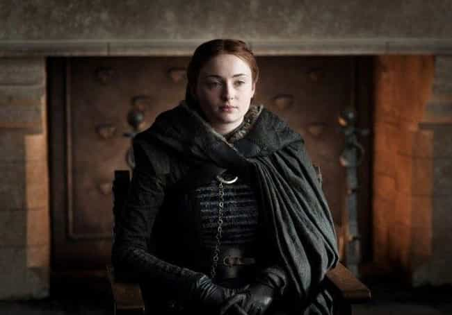 Sansa Stark is listed (or ranked) 3 on the list After A Decidedly Mixed Season 7, How Did You Feel About Every Character's Arc In Game Of Thrones?